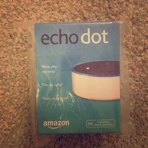 Amazon echo dot never used!